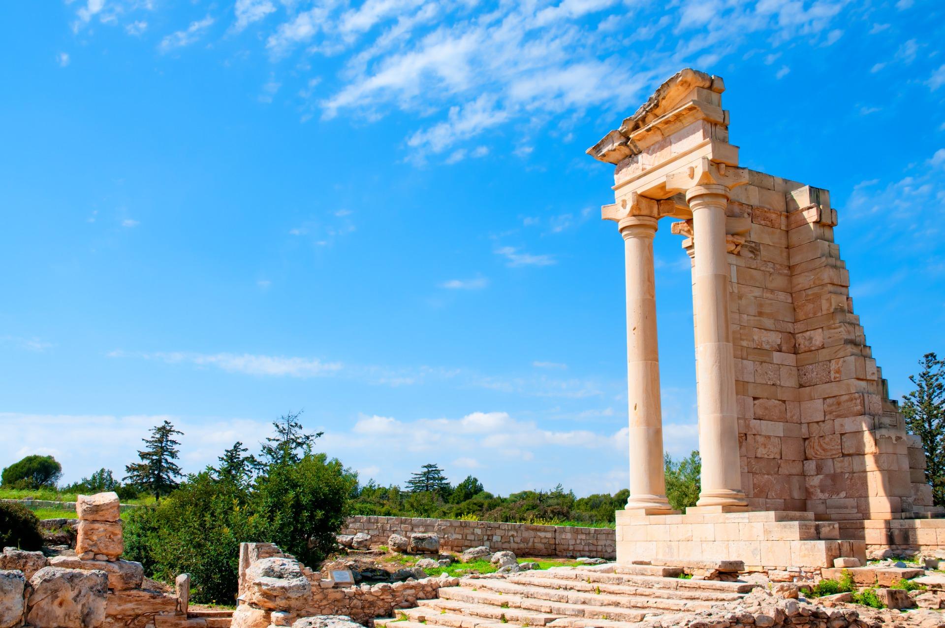 Ruins of the Sanctuary of Apollo Hylates