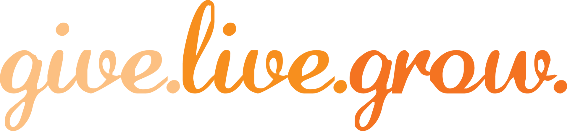 give_live_grow_oranage_logo