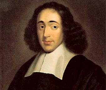 Spinoza luciendo su cabellera